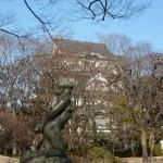 千葉城と彫像
