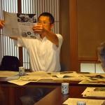 由来、ハスに関する疑問を楽しく解説する斎藤所長