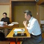 熱く語る田中講師。