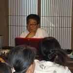 宮沢賢治のお話に続いて2回目の講座です。