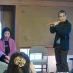 笛と太鼓のコラボレーション!