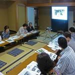 今回の遠足講座は千葉公園の好日亭で開催
