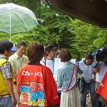 斉藤講師、本日はテレビの生中継にも出演です。