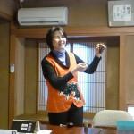 沖縄の音楽は謡い囃し踊り皆で参加します。